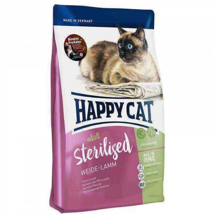 Happy Cat Lamb Kuzu Sterilised Kedi Maması 10 Kg