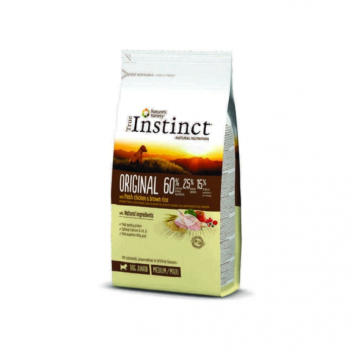 T INSTINCT DOG ORI.MED/MAX PUPPY CHICKEN 2kg
